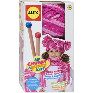 Chunky & Funky Knitting Kit