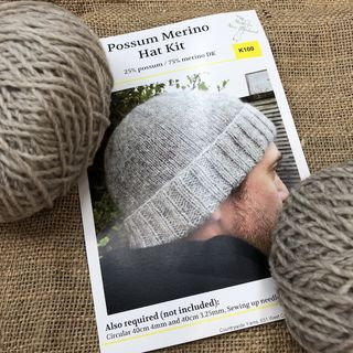 Possum Merino Hat (Unisex) Kit