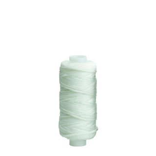 Waxed Polyester Thread, White, 22m