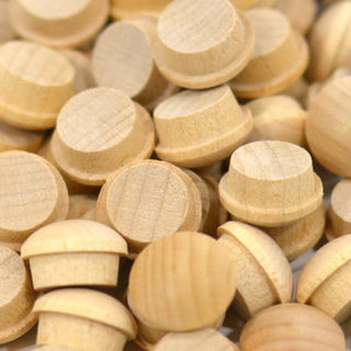 Wooden Plugs & Buttons