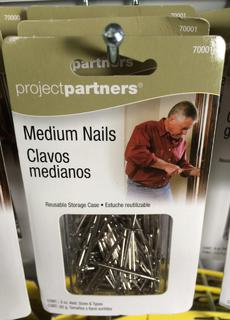Nails, assorted medium