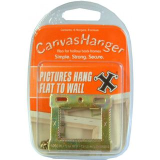 Canvas frame hanger, 4 pc