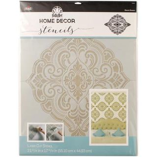 Stencil XL Ornate Damask 55 x 45cm