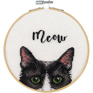 Counted Cross Stitch, Meow