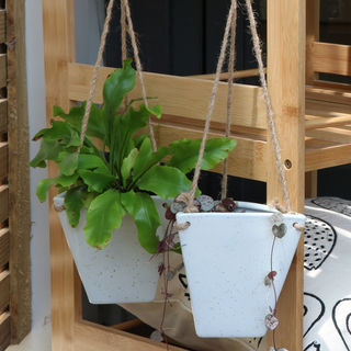 Conical Hanging Planter