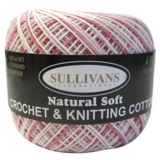 4ply Crochet & Knitting Cotton