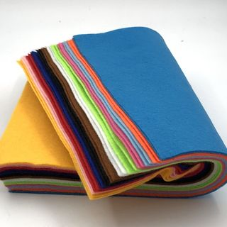 Coloured Felt Pack, 30 x 23cm, 24PK