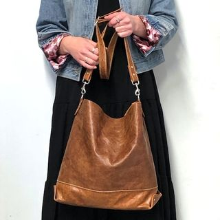 VESTAL Leather Tote Bag