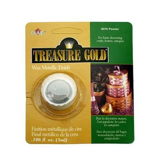 Treasure Gold Metallic Wax - PEWTER 3ml