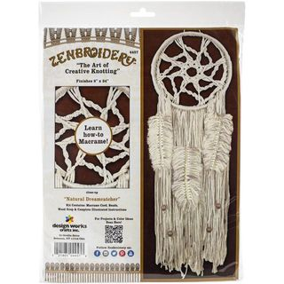 Macrame Kit Zenbroidery DreamCatcher