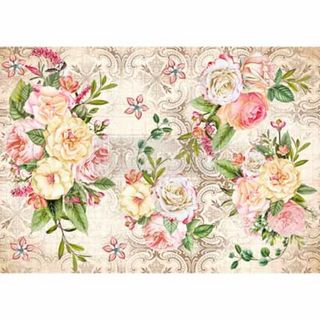 Redesign Rice Paper 29x41cm Amiable Roses