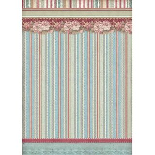 A4 Rice Paper Striped Wallpaper