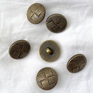 Button Bronze Shanked 20mm