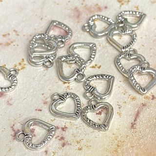 Charm 12mm Silver
