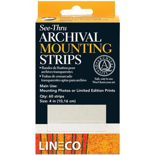 Lineco See-Thru Archival Mounting Strips
