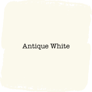 Vintage Paint Antique White