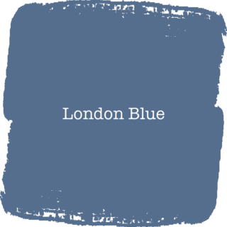 Vintage Paint London Blue