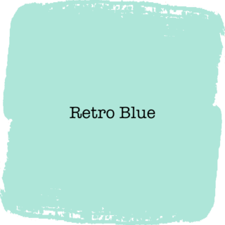 Vintage Paint Retro Blue