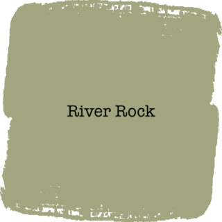 Vintage Paint River Rock