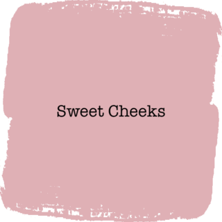 Vintage Paint Sweet Cheeks
