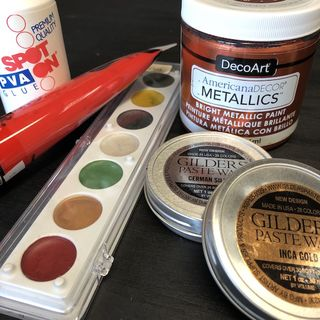 PAINT, STAINS, WAX, GLUES