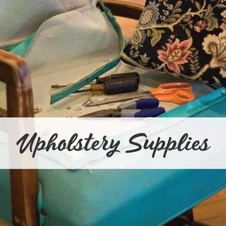 Reupholstering your chair & need upholstery supplies & tools? Buy back tacking, webbing, linings, piping etc. FAST New Zealand delivery. Shop now!