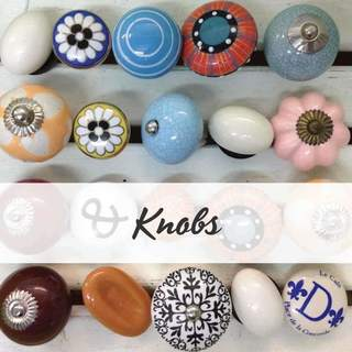 Update the look of your furniture with ceramic knobs. Buy online in NZ with fast shipping.