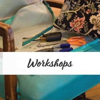 Join an upholstery workshop in New Zealand. Classes to suit all levels. 5 locations