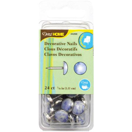 Decorative Nails, 1.11cm Bluestone