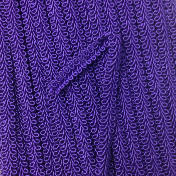 Gimp Braid Purple 12mm
