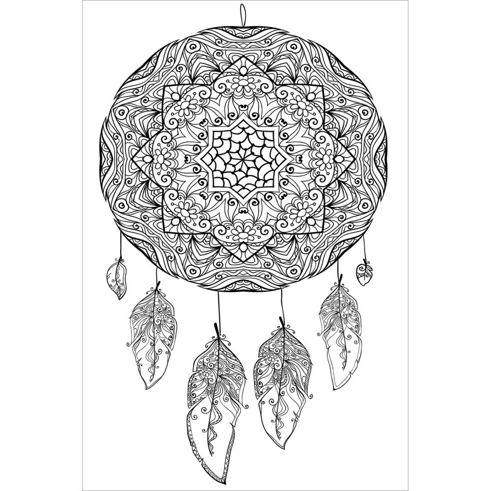 Zenbroidery Stamped Embroidery, Dream Catcher 25cm