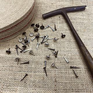 What upholstery tacks should I use?