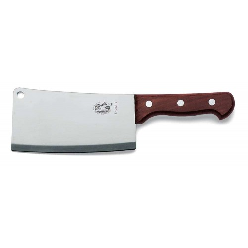 Victorinox Kitchen Cleaver 18cm, Rosewood