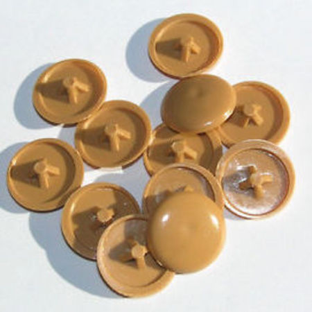 Plastic Screw Caps - Tawa, 20pc