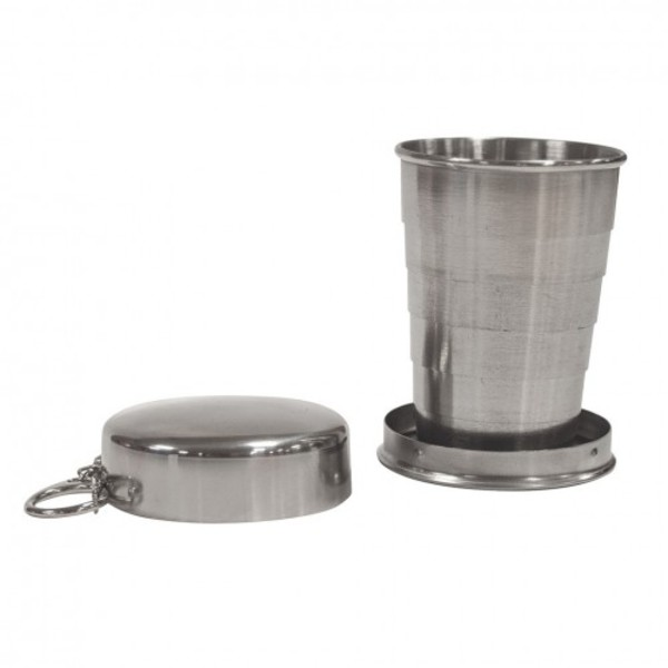 Collapsing Stainless Steel Cup