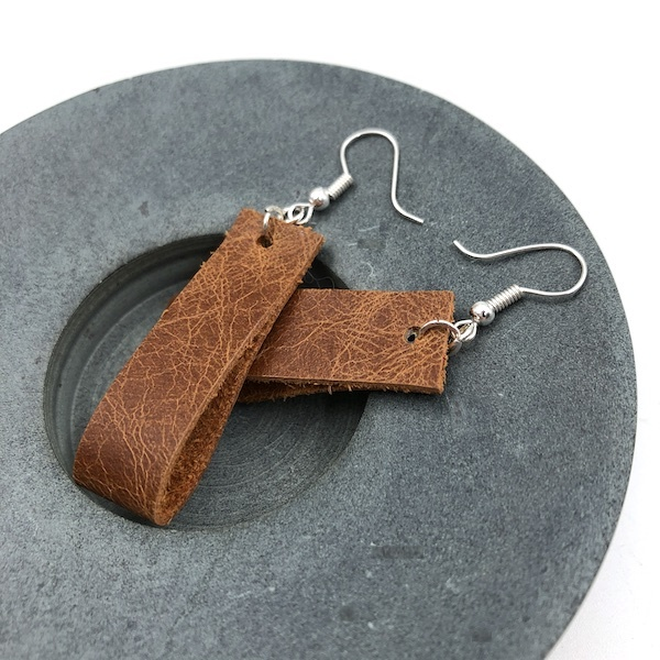 VESTAL Leather Earring