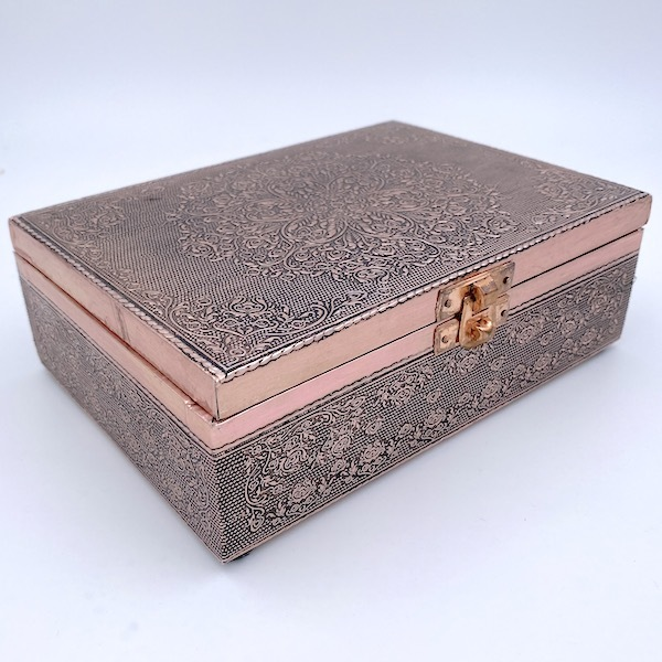Embossed Copperplate Box