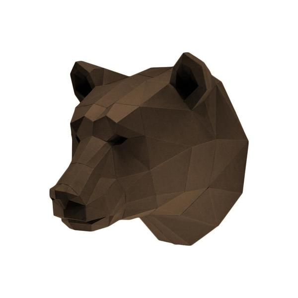 Origami Kit: 3D Bear Head