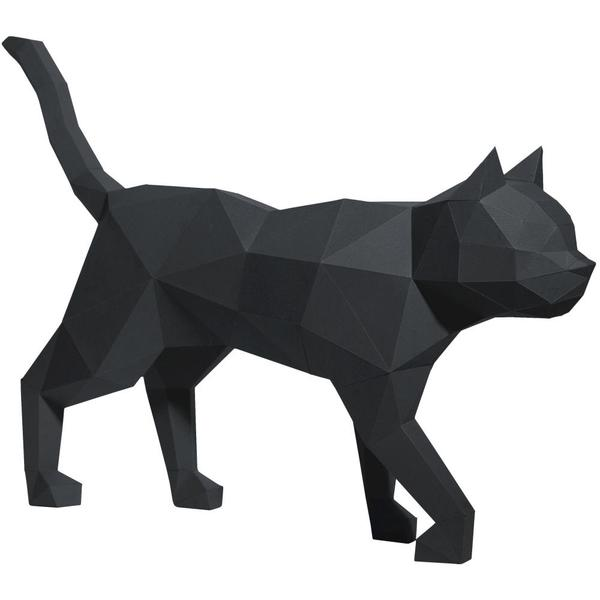 Origami Kit: 3D Black Cat