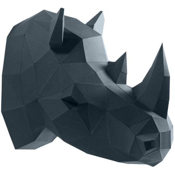 Origami Kit: 3D Rhino Head