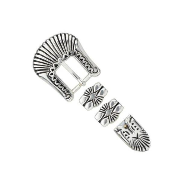 Art Deco 4 Piece Buckle Set, 20mm (3/4