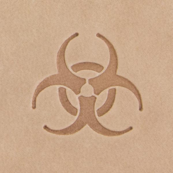 Biohazard Mini 2D Stamp