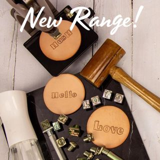 NEW RANGE: Leather Stamping