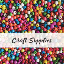 Craft supplies, mod podge, stencils, transfers, paint, macrame, embroidery. Buy NZ