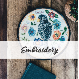 Modern & traditional embroidery kits and floss. Buy online in New Zealand.